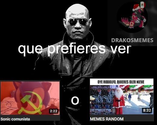 sonic comunista - meme