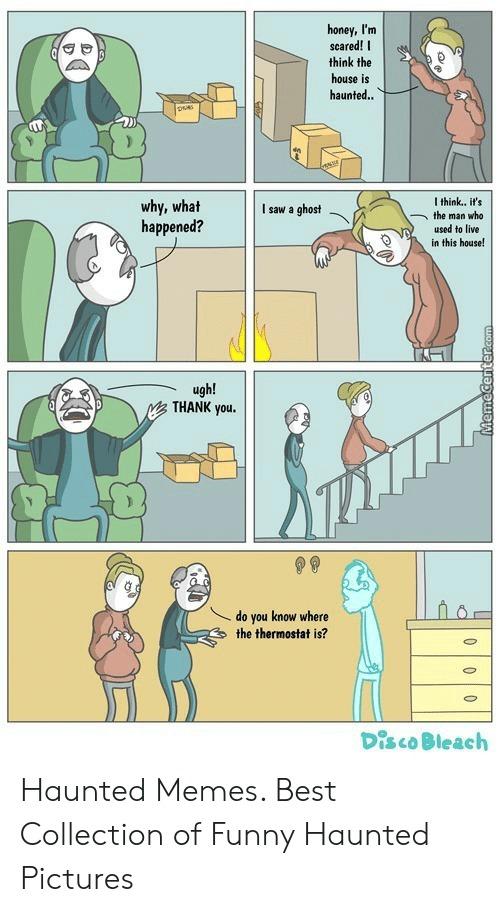 Haunted meme