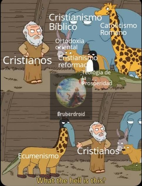 Literalmente Ecumenismo :wojak: - meme