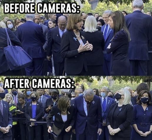 Cameras off/on - meme