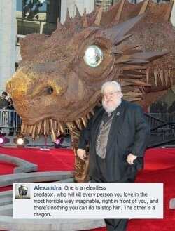 Title likes dragons. - meme