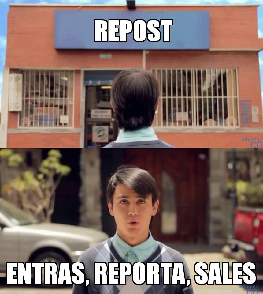 Reportado >:v - meme