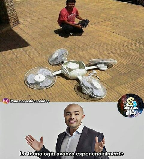 Dron made in china :b - meme