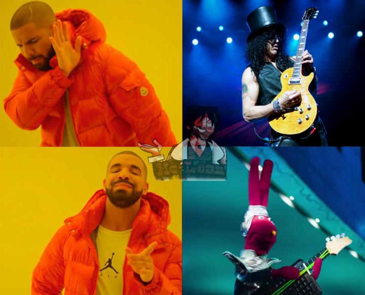 Guitarra de ultima generación - meme