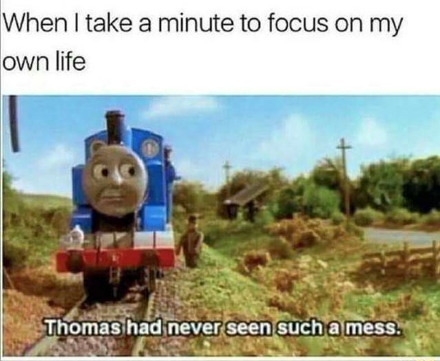 ThOmAs ThE yEeT eNgInE - meme