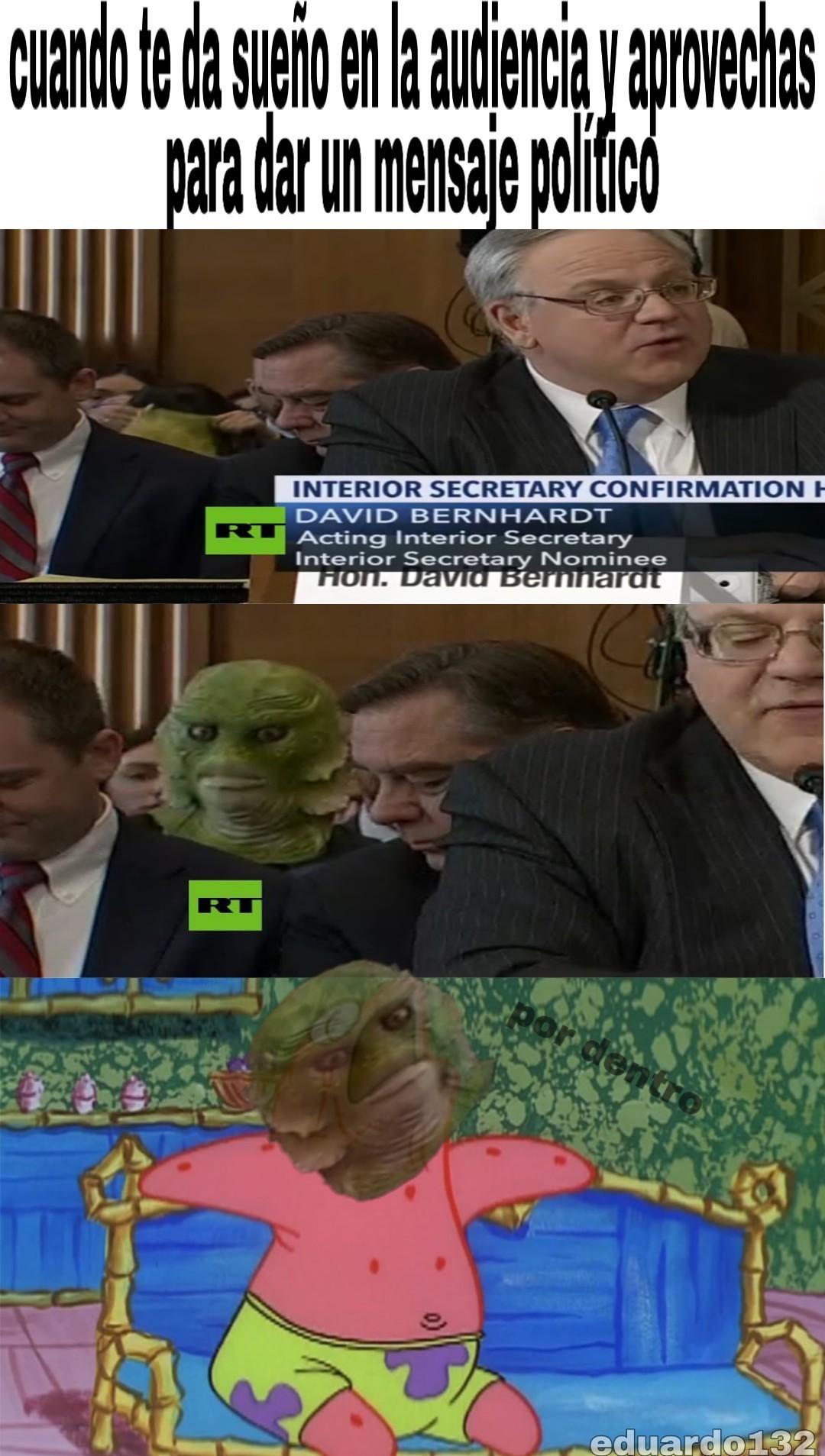 Monstruo del pantano - meme