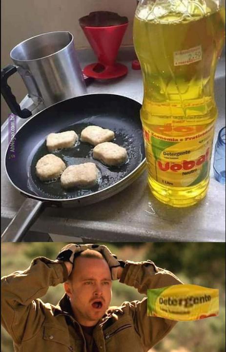 Empanaram meus nuggets - meme