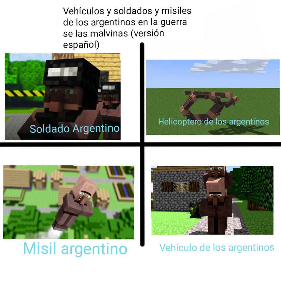 LA GUERRA DE LAS MALVINAAAAAAAAAAAAS Geonardo y Álvaro ya besense - meme