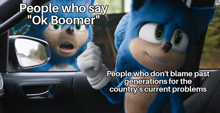 And no I'm not a boomer - meme
