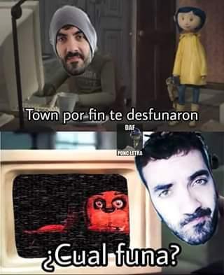 el town ni se inmuta - meme