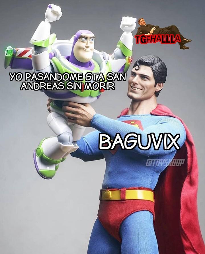 Uzumymw, hesoyam, baguvix, rocketman, kangaroo.... - meme