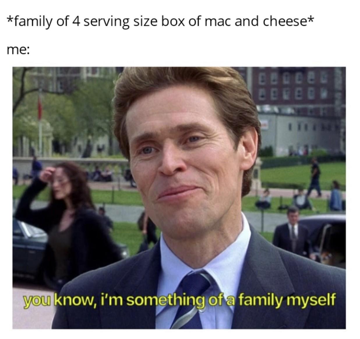 Family man - meme