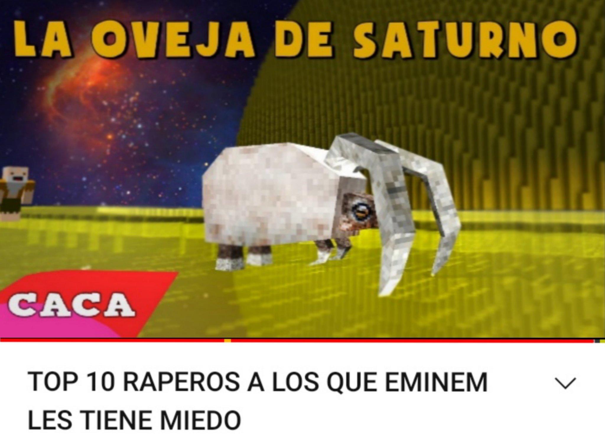 La oveja de Saturno xd - meme