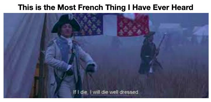 French 100 - meme