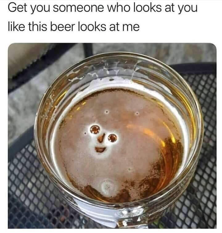 Cute beer - meme