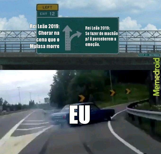 Sempre haverá a emoção - meme