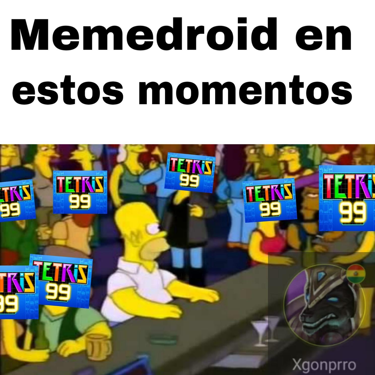 Tetris se robo el titulo - meme