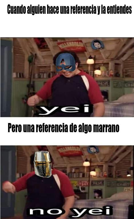 Referencias marranas - meme