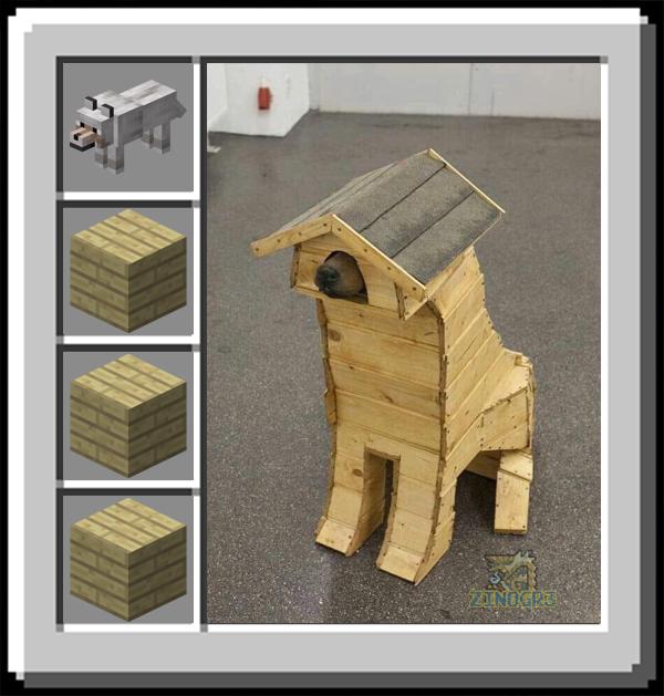wooden dog - meme