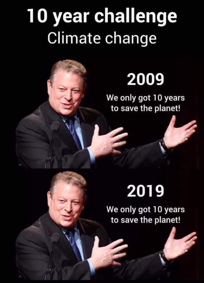 Gore is a nut job - meme