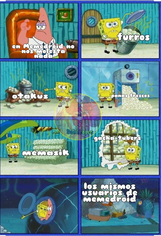 Es solo un meme no se enojen