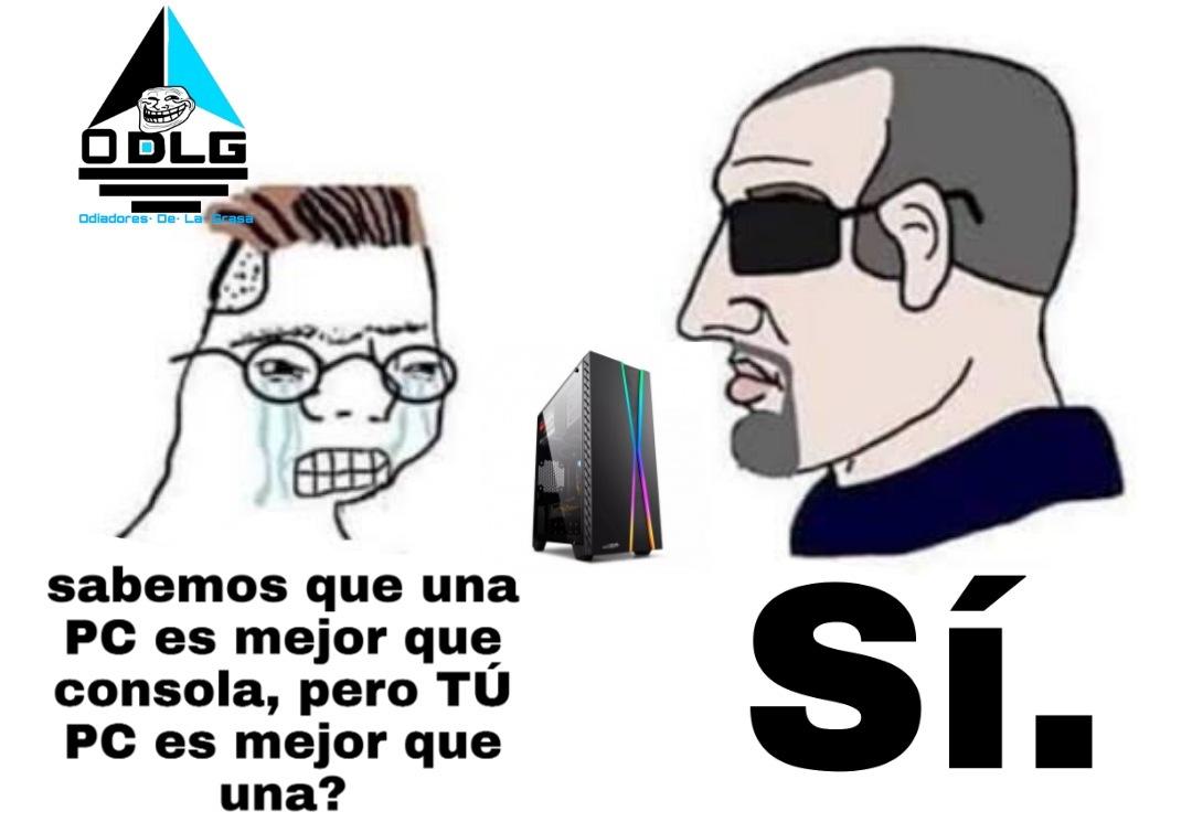 Escapé de Latinoamérica - meme