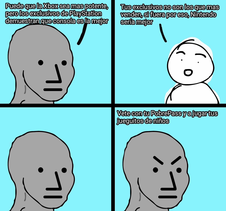 Como odio a los Fanboys (ver tags) - meme