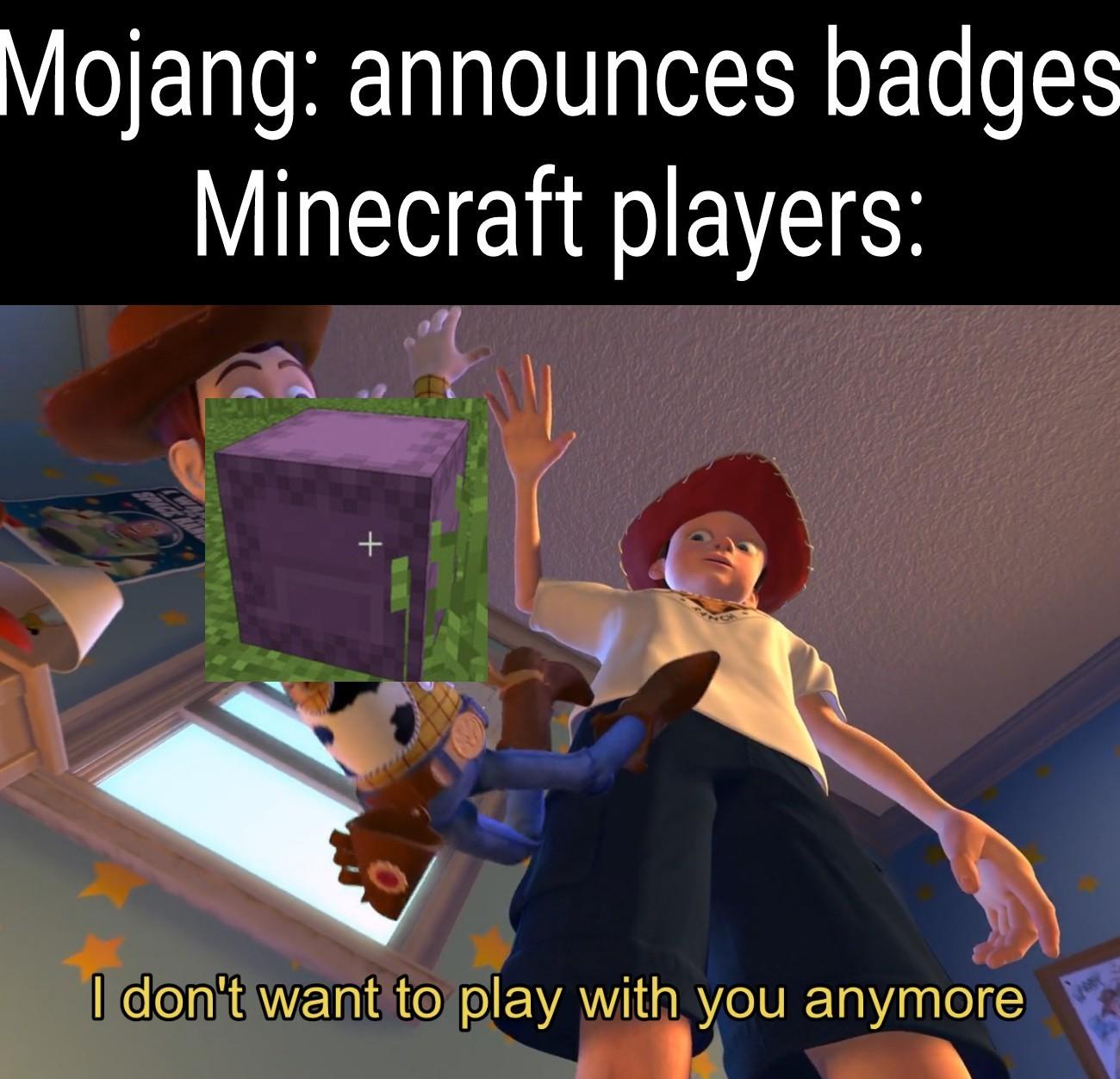 Only minecraft players understand - meme
