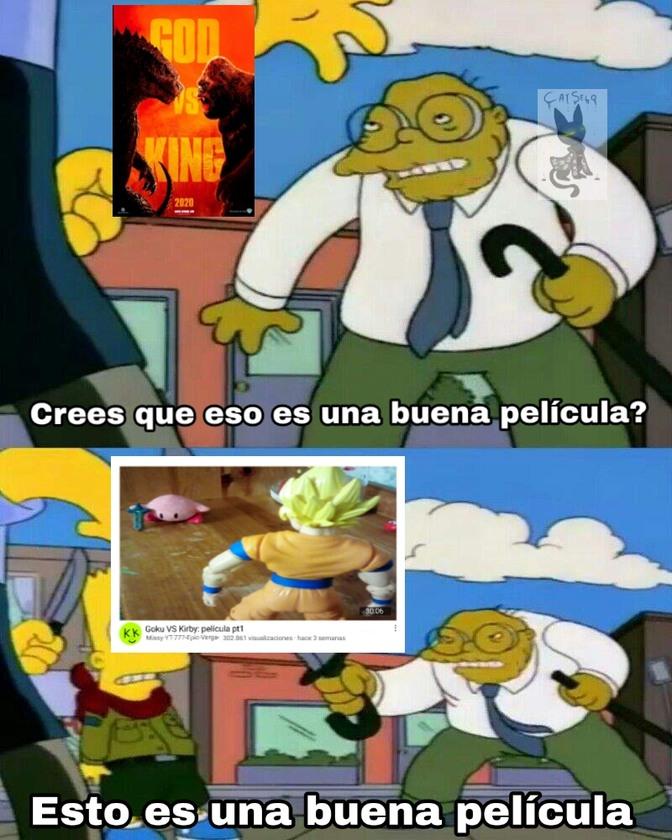 Kirby le gana - meme