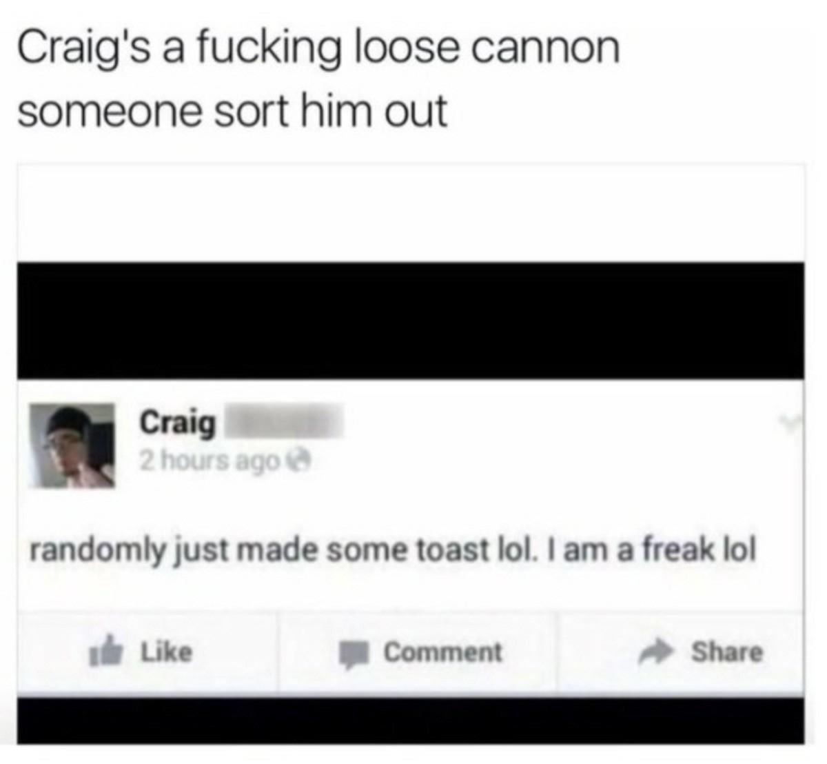 Craig - meme