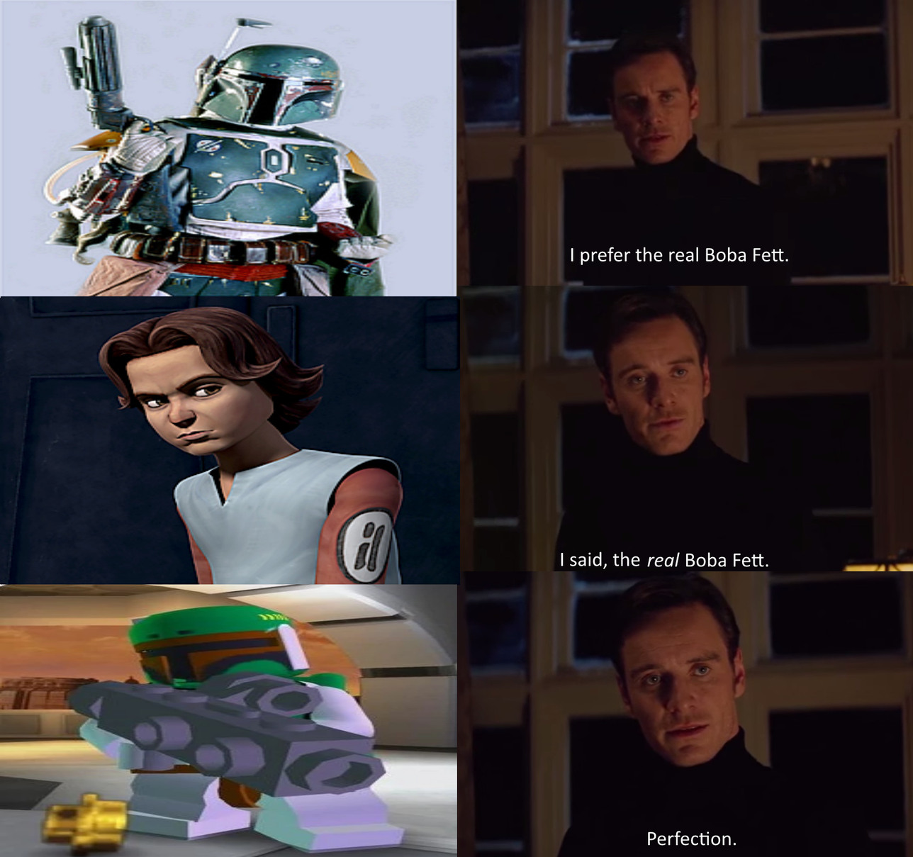 The Real Boba Fett - meme