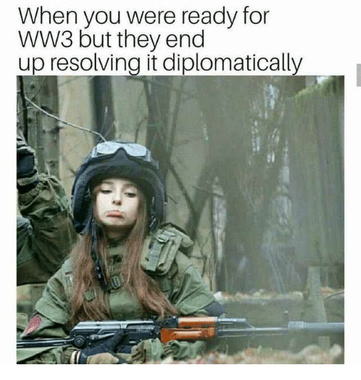 F#@K DIPLOMACY - meme