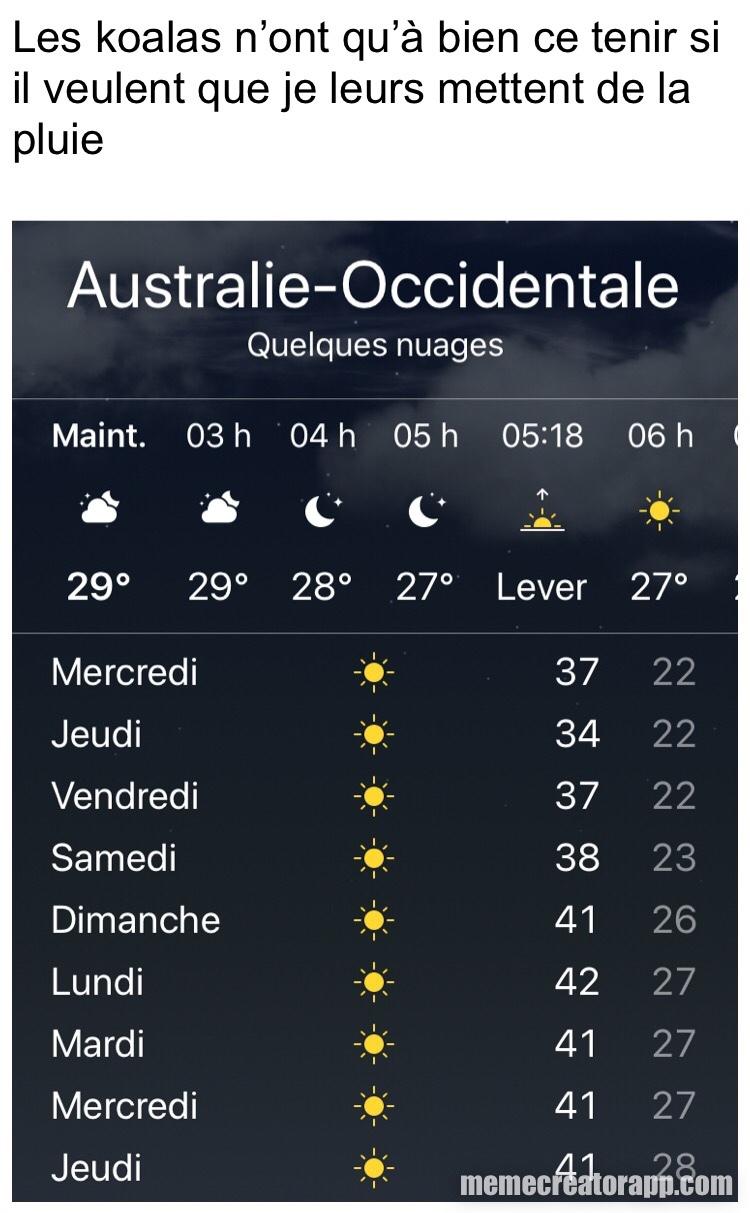 Australie - meme
