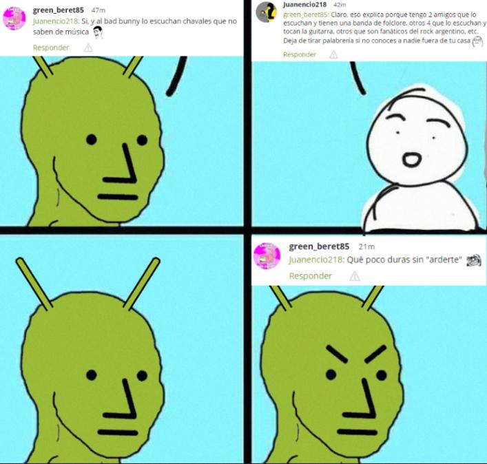 Los NPC's dirán que estoy ardido por hacer un meme XDDD