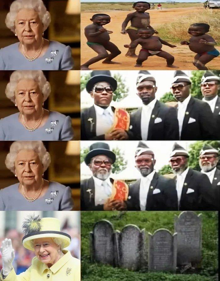 Good save the Queen - meme