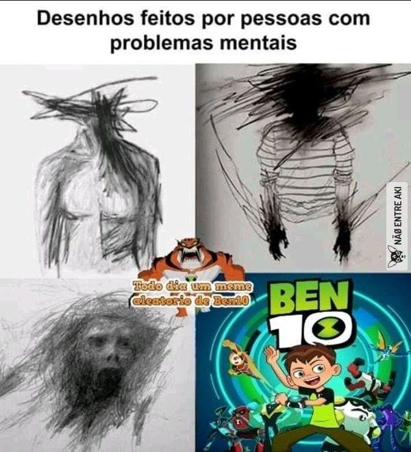Mlk esquizofrênico - meme