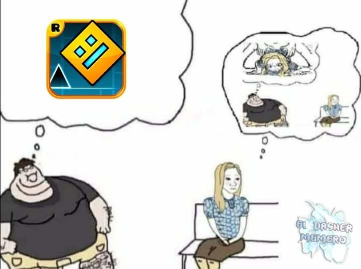 No es mio el Momo - meme