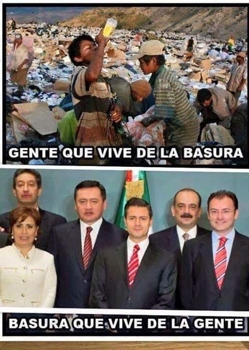 triste realidad... México - meme