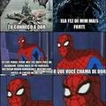 Homem-aranha: 1. Batman: 0