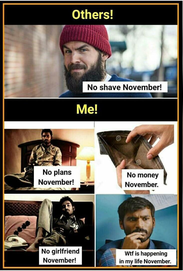 No Life November - meme