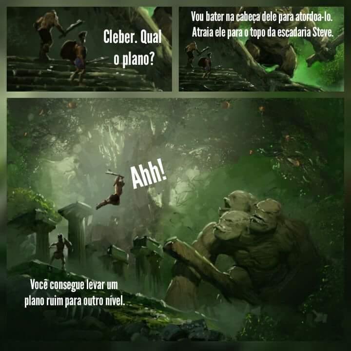 Cleber's Adventures 8 - meme