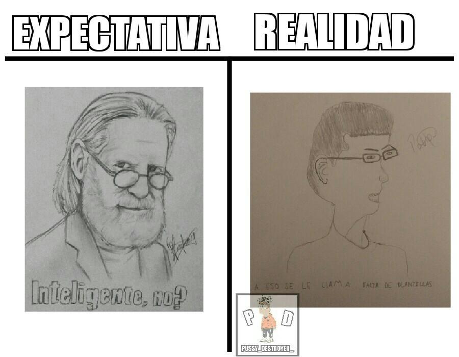 El segundo dibujo lo hice yo - meme