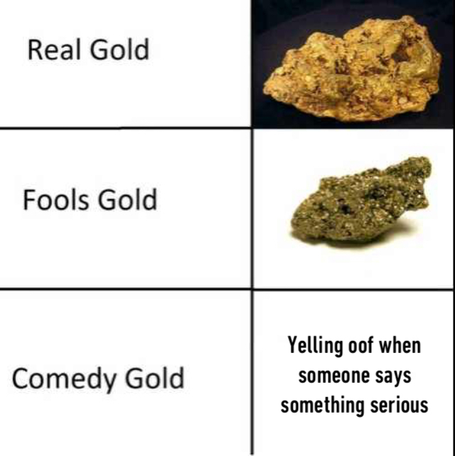 Comedy gold - meme