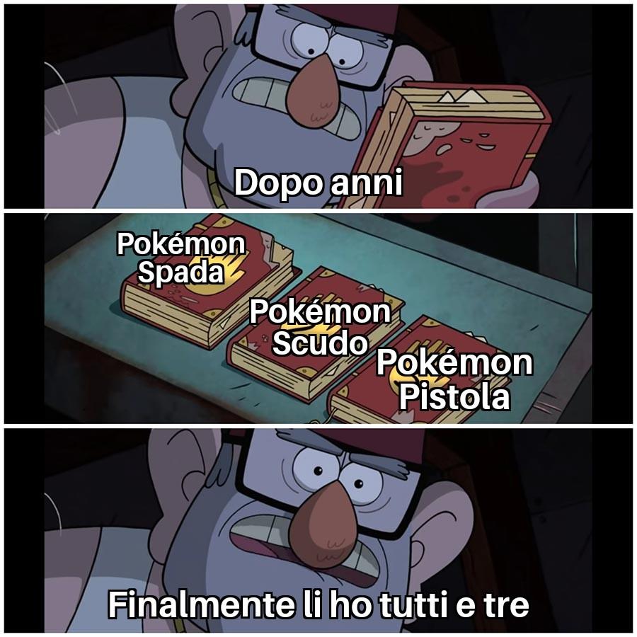Io voglio pokémon pistola - meme