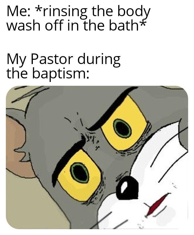 I'm trying to take a bath here - meme