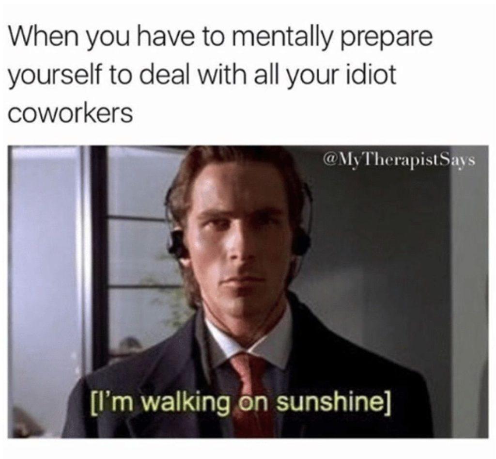 American psycho - meme