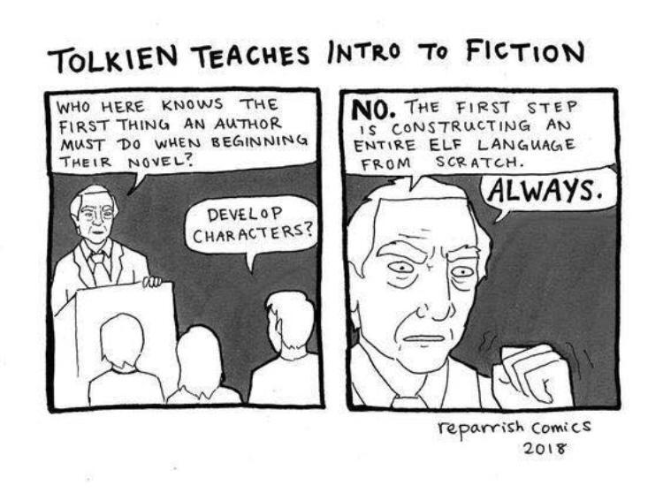 Classic Tolkien - meme