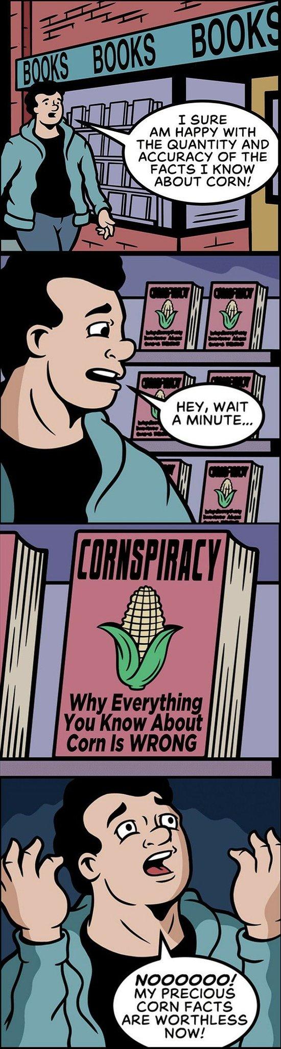 Cornspiracy - meme