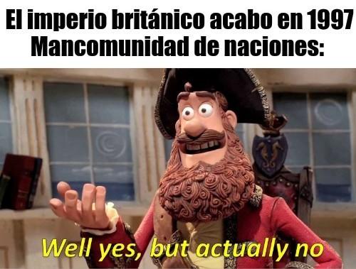 Mancomunidad de naciones - meme