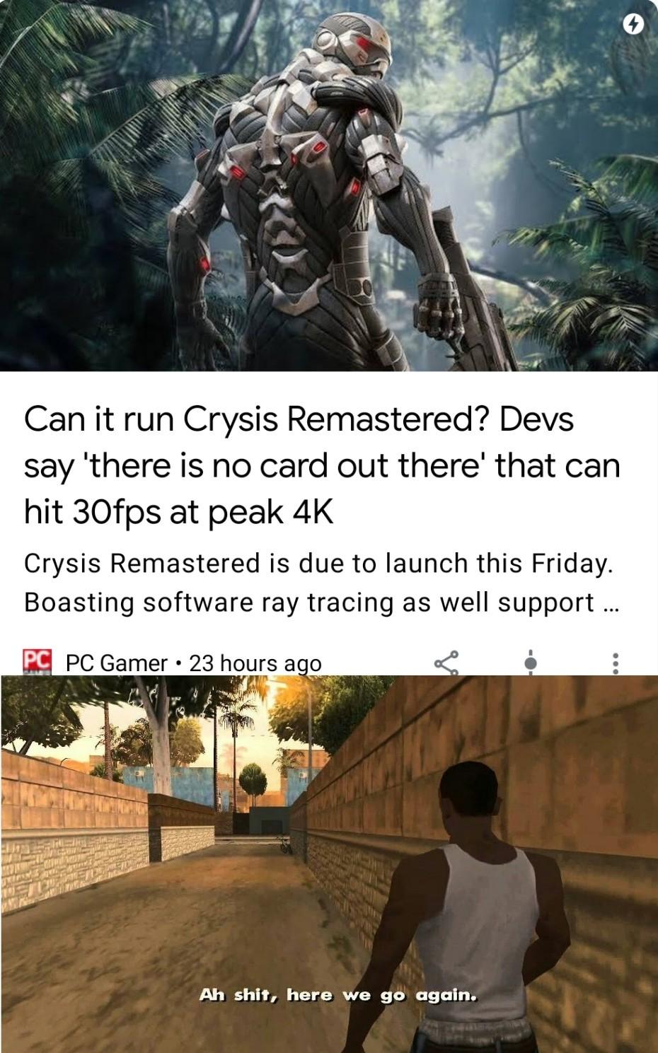 Can it run crysis? - meme
